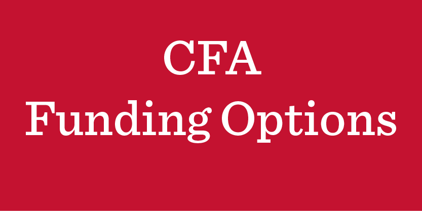 CFA Funding Options