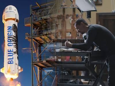 U Alums send artwork into space on exterior of Blue Origin New Shepard rocket