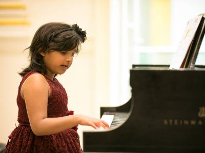U Piano Outreach Program ignites a love of music in young students