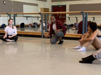Guest Artists Omar Carrum and Charles Anderson Leave Lasting Impressions on the School of Dance