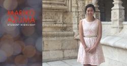 Student Highlight: Mariko Azuma
