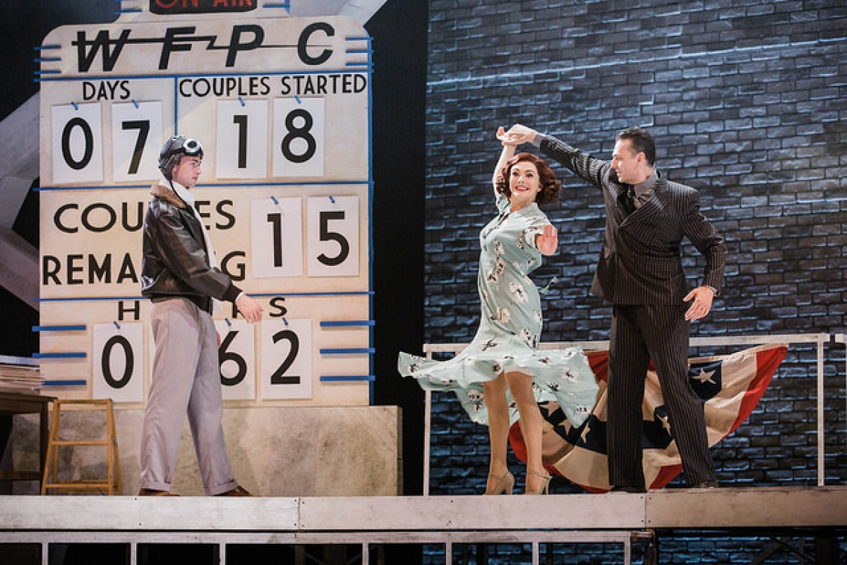 "Dancing. Music. And 1930's fashion. What more could you want! Department of Theatre opens their 17-18 season with ""Steel Pier."""