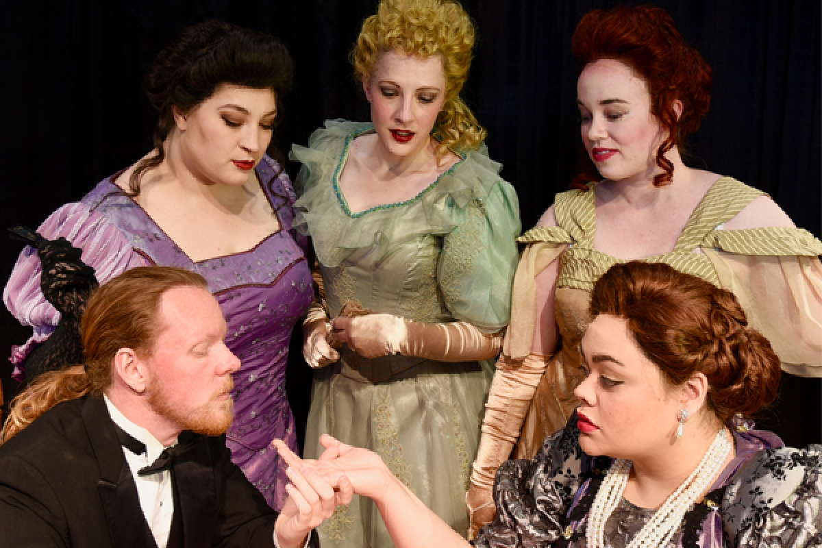 The University of Utah Lyric Opera Ensemble and the Utah Philharmonia present Giacomo Puccini's LA RONDINE