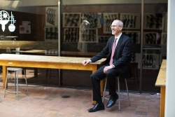 John W. Scheib named AVP for the Arts