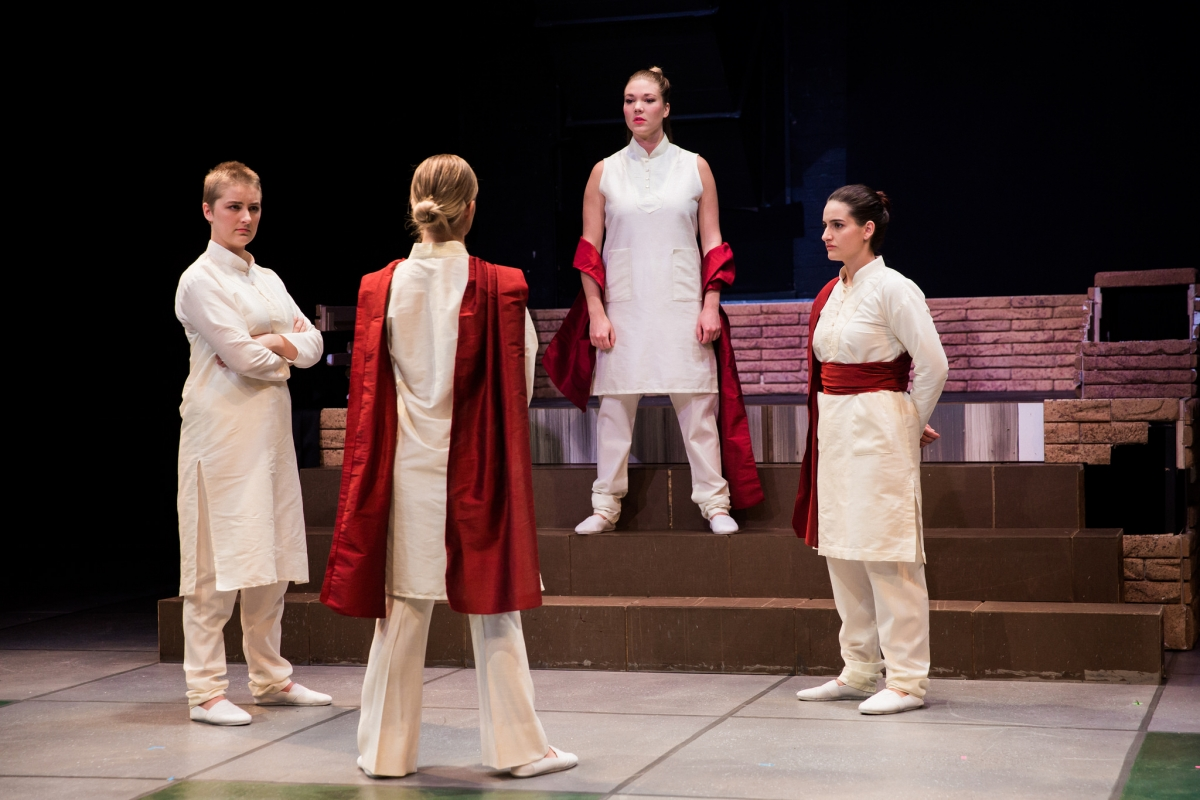 "The Department of Theatre presents a futuristic and endearing ""Julius Caesar"""