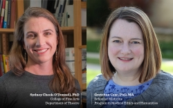 Interdisciplinary research team receives federal grant to investigate value and impact of the arts in medicine