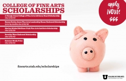 Apply now for 2019-20 College of Fine Arts scholarships!