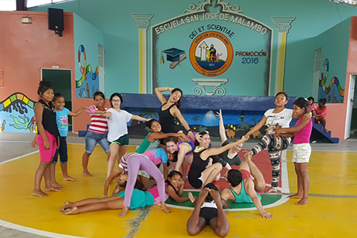 Panama Movement Exchange: School of Dance Students Engage in Arts Advocacy