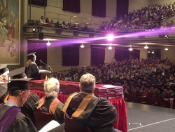 College of Fine Arts Graduation Speech 2018 by Rachel Luebbert