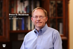 Honoring Peter D. Meldrum
