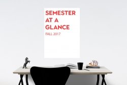 Semester at a glance: Fall 2017