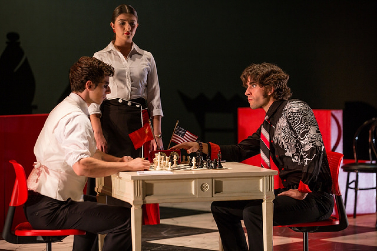 """CHESS"" The Musical opens September 14-23 at the University of Utah"