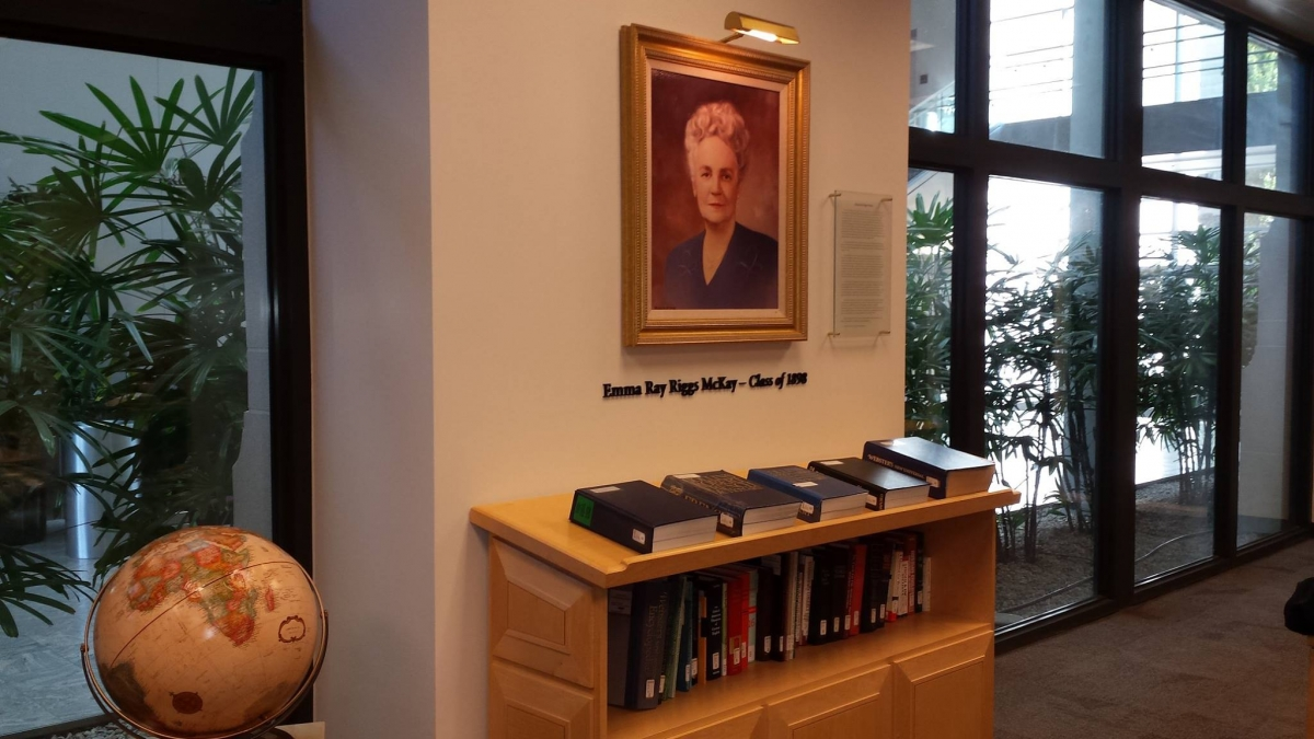 The School of Music's Emma Ray Riggs McKay Music Library