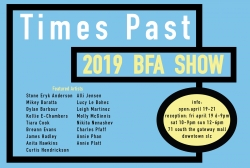 The 2019 Department of Art & Art History BFA Show