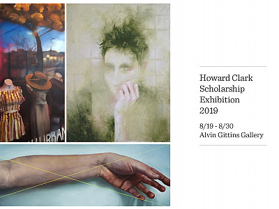 Howard Clark Scholarship Exhibition Opens in Gittins Gallery Featuring Alyssa Hood, Lucy Le Bohec, and Alexis Rausch