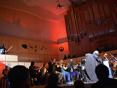 The Utah Philharmonia celebrated a Star Wars inspired Halloween with CFA Dance students