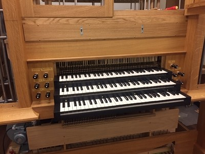 New Flentrop uplifts the organ program at the School of Music