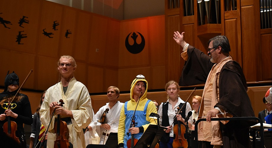 Join the Utah Philharmonia for it's spooky Annual Haunted Concert